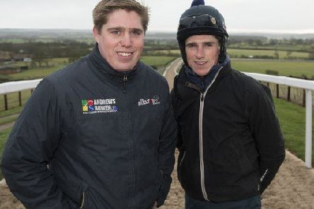 Trainer Dan Skelton (left) with jockey and brother Harry.