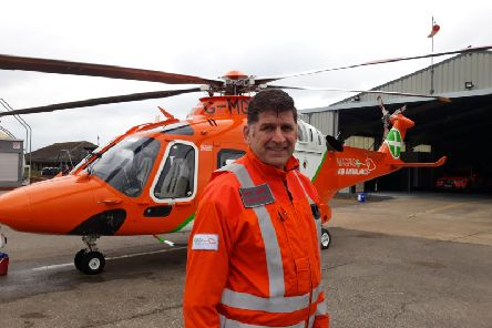 Magpas operations manager Andy Smith