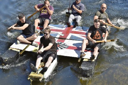 Deeping Raft Races take place in August.