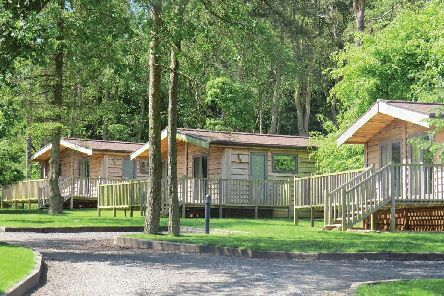The accommodation at Landal Darwin Forest