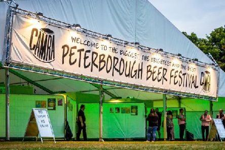 Peterborough Beer Festival starts on Tuesday