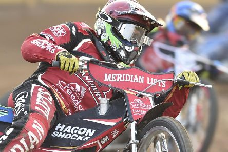 Peterborough Panthers' Hans Andersen will miss the Witches' clash with a wrist problem