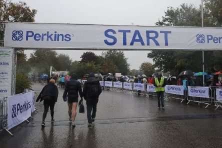 The Great Eastern Run had to be cancelled  because of a 'serious police incident'