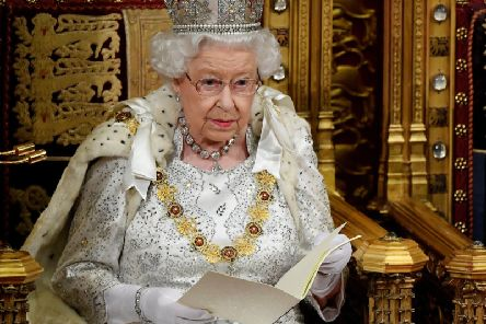 Queen Elizabeth II delivers the Queen's Speech during the State Opening of Parliament in the House of Lords at the Palace of Westminster in London. PA Photo. Picture date: Monday October 14, 2019. See PA story POLITICS Speech. Photo credit should read: Toby Melville/PA Wire YPN-191014-153102060