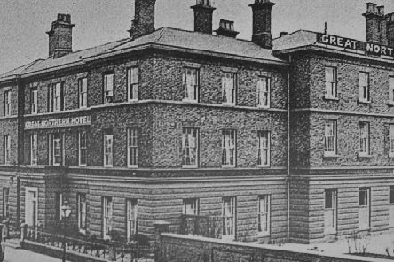 A picture of the hotel taken in 1923 when a night's stay would have cost �1