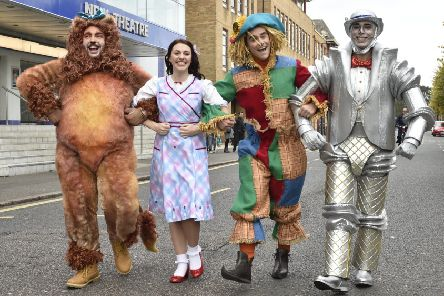 The New Theatre, Broadway photocall for the Christmas Panto, The Wizard of Oz. EMN-191030-153227009