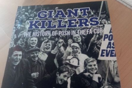 The new Posh book on the club's exploits in the FA Cup.