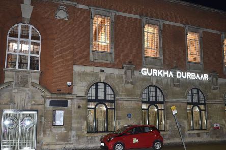 Brad Barnes dines at Gurkha Durbaar on Broadway in Peterborough city centre