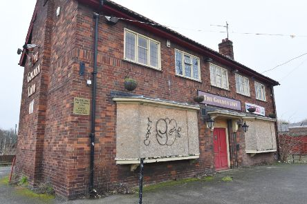 The former Golden Lion pub in Stanground