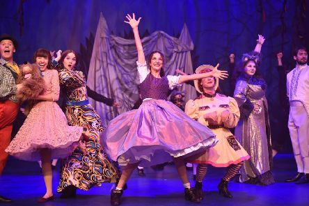 Beauty and the Beast panto at the Key Theatre. EMN-190412-221231009