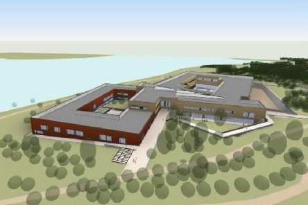 A view of the proposed new SRC campus.