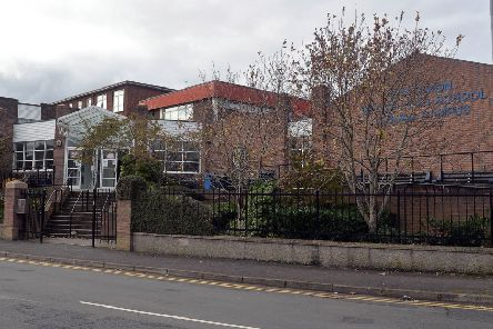Craigavon Senior High School, Lurgan Campus. INLM39-221.