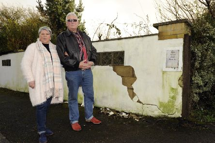 Angela and Ray Swift at their home in New Road, Lovedean