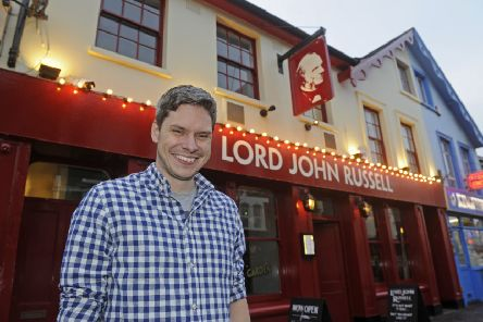 Chris Vaux, new landlord at The Lord John Russell pub in Southsea     Picture: Ian Hargreaves  (171680-1)