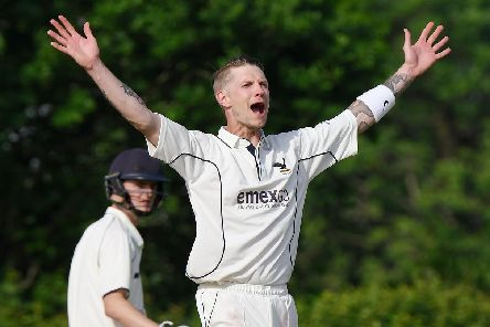 Purbrook all-rounder Aaron Dean. Picture: Neil Marshall