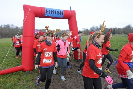 RNLI charity Reindeer Run at Stansted House. 'Picture Ian Hargreaves  (181216-16 RNLI)