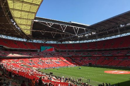 Wembley - where all Pompey fans should want to be for this season's Checkatrade Trophy final