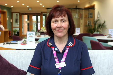 Tracy Jeffery, Manager of the Rowans Living Well Centre