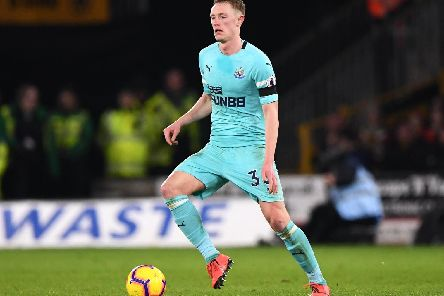 Sean Longstaff in action for Newcastle at Wolves. Picture: Stu Forster/Getty Images