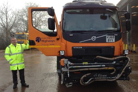Hampshire County Council has invested in a new fleet of vehicles designed to repair pot holes in super-fast times.