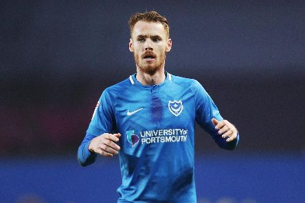 Tom Naylor is back from suspension for Pompey's clash with Bristol Rovers. Picture: Joe Pepler
