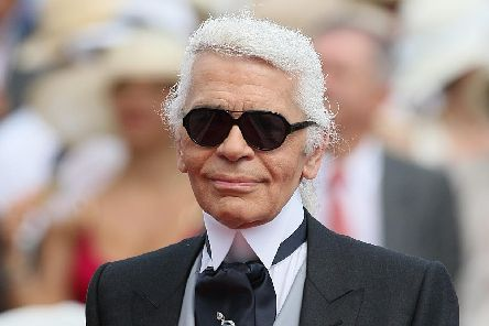 Karl Lagerfeld has died, according to French media reports. Picture: Dominic Lipinski/PA Wire