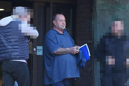 Former Gypsy King head shop worker Colin Gibbs, 52, of Northam Street, Landport, Portsmouth, was handed a community order after being convicted of two charges of having Spice, a class B drug, with intent to supply at Portsmouth Crown Court. Picture: (140219-1029)