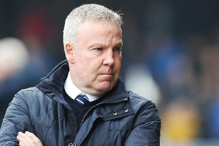 Kenny Jackett retains faith in his trusted 4-2-3-1 system at Pompey. Picture: Joe Pepler/Digital South.
