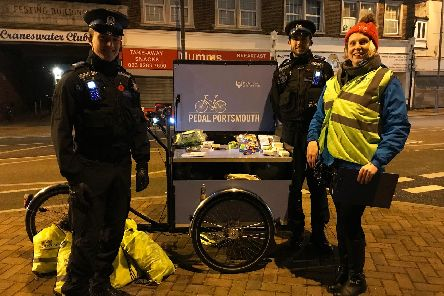 Portsmouth City Council working with Hampshire Constabulary to encourage cycling visibility in the city