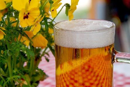 It is perfect weather to enjoy a drink in a beer garden. Picture: Pixabay
