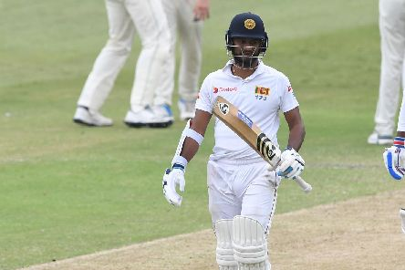 Sri Lankan batsman Dimuth Karunaratne. Picture: Lee Warren/Gallo Images/Getty Images