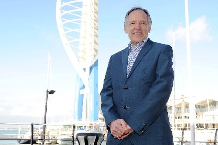 Pictured: Colin Wilding, Centre manager of Gunwharf Quays'Picture: Habibur Rahman