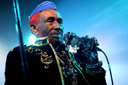 Lee Scratch Perry at The Wedgewood Rooms, Southsea. Picture by Paul Windsor
