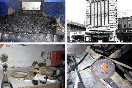 Simon Waitland explored the former Odeon cinema in North End