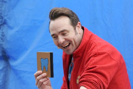 Childrens entertainer Silly Scott will be entertaining in Portchester.
