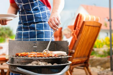 Rick Jackson thinks you have to live a little when it comes to enjoying a barbeque.