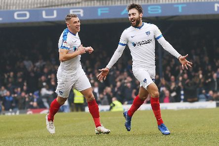 Ben Close this week signed a new Pompey deal - and thanked former boss Paul Cook for his faith. Picture: Joe Pepler/Digital South