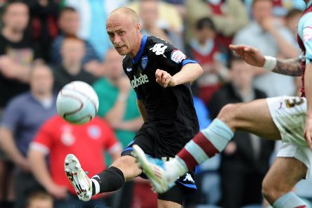 Former Pompey winger David Cotterill. Picture: Allan Hutchings