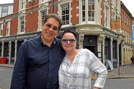 The Guildhall Village in Portsmouth, pictured Taz and Jo Shah. Picture by:  Malcolm Wells