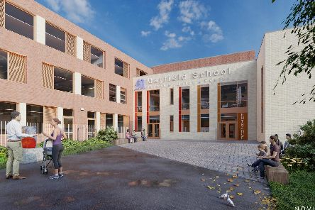 An artist's impression of how the new Mayfield School in Copnor could look. Picture from Noviun Architects