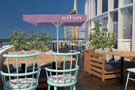 Eden is a new entertainment venue opening in the heart of Portsmouth in July 2019 offering an inclusive experience for guests to drink, dine, dance and discover.