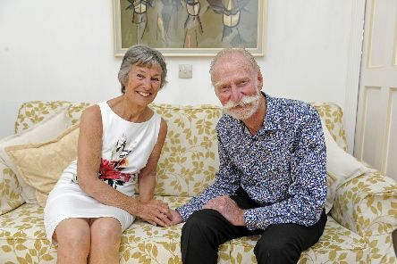 Rosemary and Michael Pharo from Gosport celebrate their diamond wedding anniversary. Picture: Ian Hargreaves