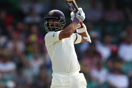 Ajinkya Rahane scored 119 on his Hampshire debut. Picture: Cameron Spencer/Getty Images