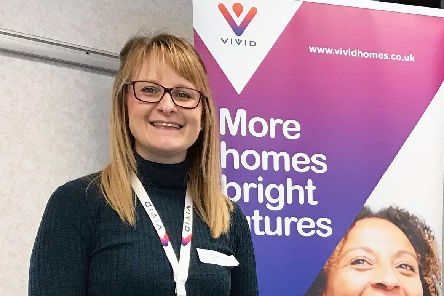 Lauren Green is one of Vivid's new wellbeing workers. Courtesy of Vivid