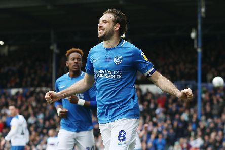 Brett Pitman has impressed Kenny Jackett in the number 10 role during the second half of the campaign. Picture: Joe Pepler