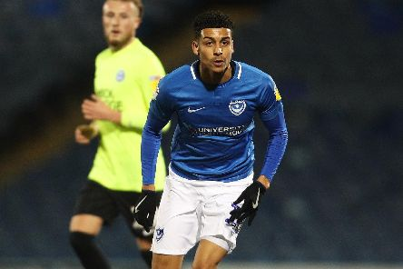 Louis Dennis has suffered a frustrating maiden season at Fratton Park. Picture: Joe Pepler