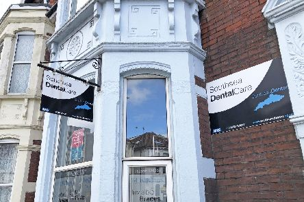 The dental surgery in Victoria Road North, Southsea, Portsmouth, which is set to close in mid-July after Southern Dental was taken over by Colosseum Dental Group in 2017. Photo: Ben Mitchell/PA Wire