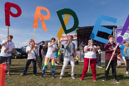 Portsmouth Pride will take place this weekend. Picture: Duncan Shepherd