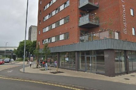 The unit Domino's Pizza will soon take up at Illustrious House in Winston Churchill Avenue in Portsmouth. Picture: Google