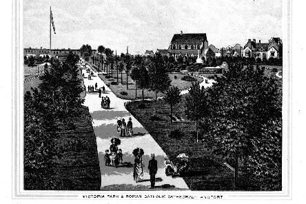 Victoria Park during the Victorian period.